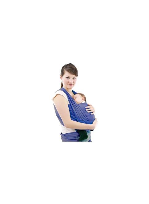 Sevi Bebe Sevi Bebe Bebek Taşıma Şalı  Lacivert